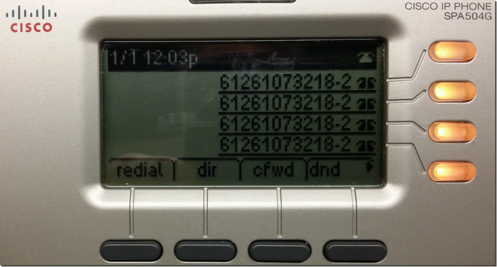 Tel2 FAQ - Cisco SPA Phones – Manual Configuration